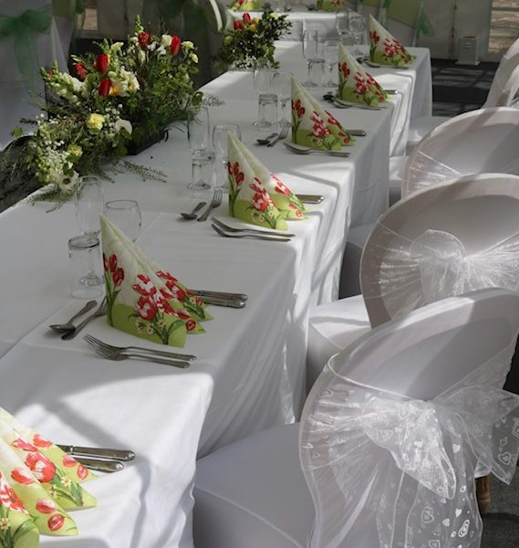 Close Up of Table Settings