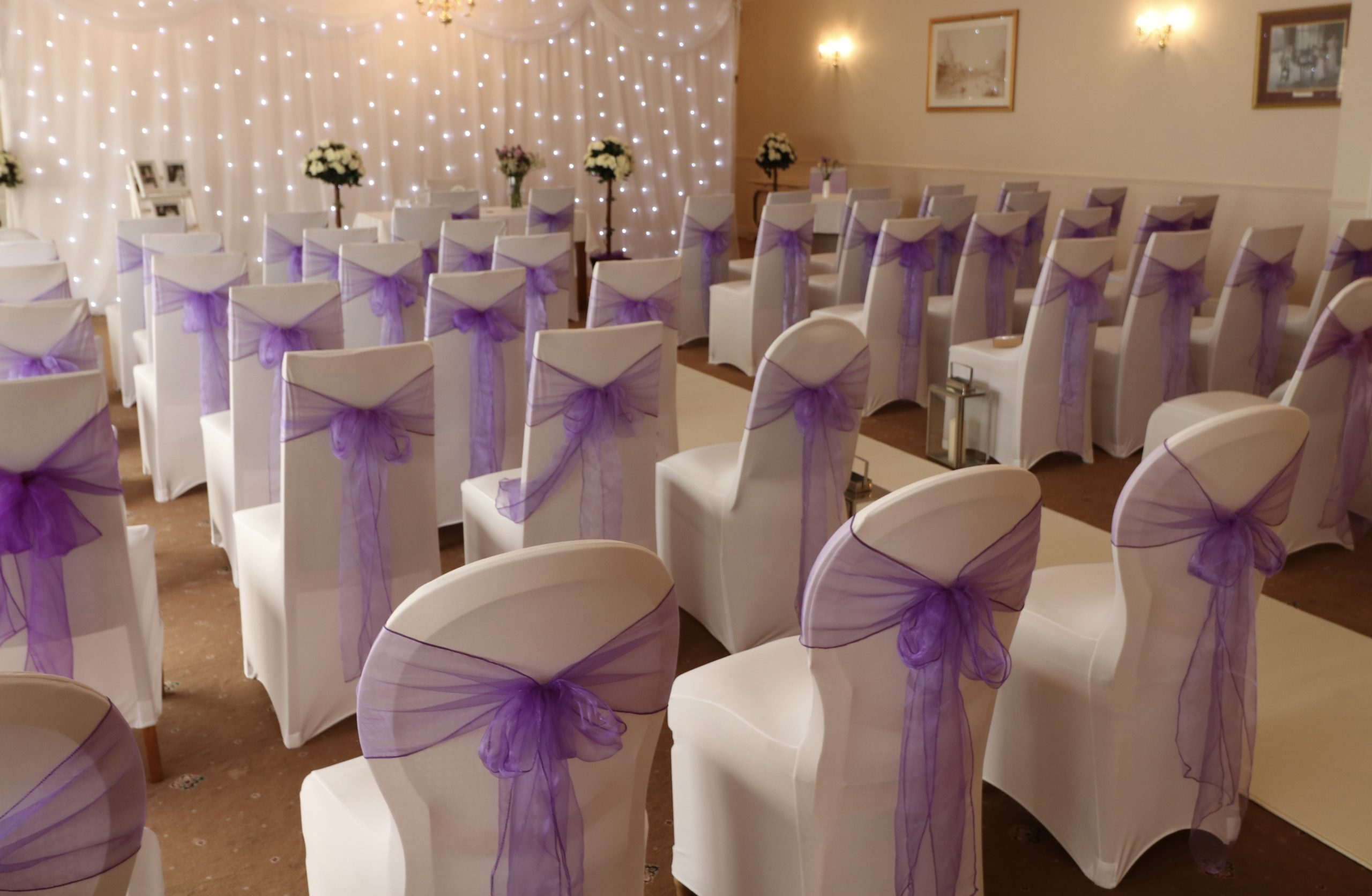 Wedding Chair Covers & Bows